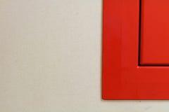 Acier rouge sur le fond de papier peint Images libres de droits