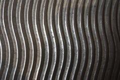 Acier rouillé en métal Photos stock