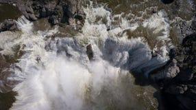 Acima da cachoeira acima Idaho do Shoshone Imagem de Stock Royalty Free