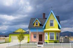 Acima da casa Imagem de Stock Royalty Free