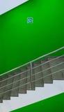 Acima da escada Fotografia de Stock Royalty Free
