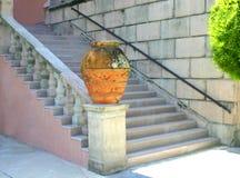 Acima das escadas imagens de stock royalty free