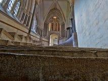 Acima das escadas ao céu Imagens de Stock Royalty Free