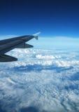 Acima das nuvens Fotografia de Stock