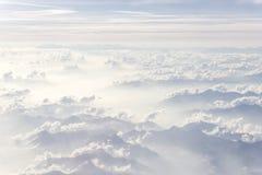 Acima das nuvens Imagem de Stock