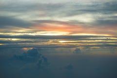 Acima das nuvens Foto de Stock Royalty Free