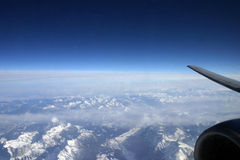Acima das nuvens Fotografia de Stock Royalty Free