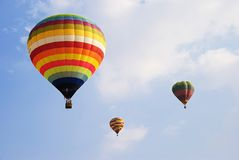 Acima de ascendente no ar Fotos de Stock Royalty Free