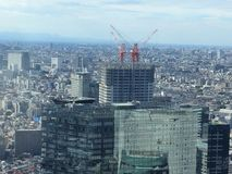 Acima de Shinjuku, Tóquio Foto de Stock Royalty Free