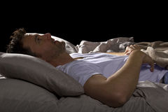 Acima de toda a noite Imagem de Stock