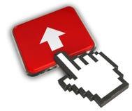 acima do ícone Fotos de Stock