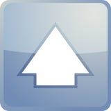 Acima do ícone da navegação Imagem de Stock