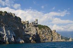 Acima do mar Fotografia de Stock Royalty Free