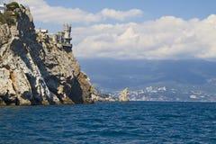 Acima do mar Imagem de Stock