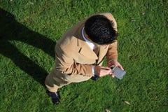 Acima - do PC do bolso Fotos de Stock