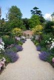 Acima do trajeto do jardim Imagens de Stock Royalty Free