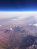Acima dos Andes do Peru Foto de Stock
