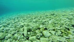 Acima-fim do recife em Grécia 9 video estoque