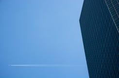 Acima no céu Fotografia de Stock