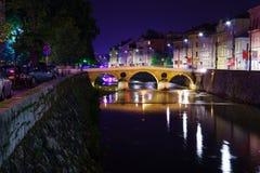 Łacina most, Sarajevo Obrazy Royalty Free