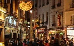 Łaciny ćwiartka Paryż, Zdjęcia Stock