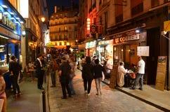 Łaciny ćwiartka Paryż Obraz Royalty Free