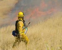 Acionador de partida de incêndio Imagem de Stock