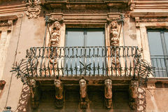 Acireale baroku miasteczko Fotografia Stock