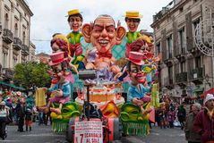 Acireale (CT) IT carnevale 2010 stock images