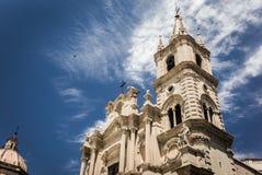 Acireale, die Kathedrale Stockbilder
