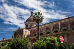 Acireale, die Kathedrale Stockfoto
