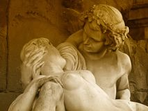 Acis et Galatee - amoureux à Paris Photographie stock libre de droits