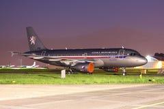 A319 ACJ Imagen de archivo libre de regalías
