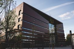 Ack del edificio nacional del foro de la música, wroclaw Fotografía de archivo