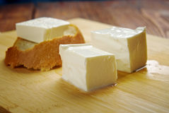 Ackawi cheese Stock Image