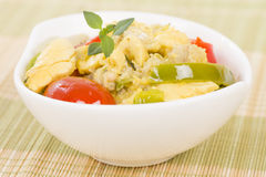 Ackee & Saltfish Royalty Free Stock Photography