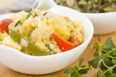 Ackee & Saltfish Stock Images