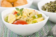 Ackee & Saltfish Royalty Free Stock Images
