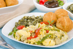 Ackee & Saltfish Stock Photography