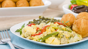 Ackee & Saltfish Royalty Free Stock Photo