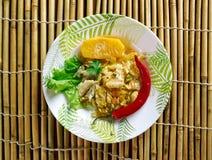 Ackee und saltfish Stockfotos