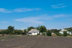 Ackerbau im Land Lizenzfreies Stockbild