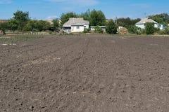 Ackerbau im Land Stockfoto