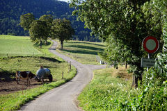 Ackerland Stockbild
