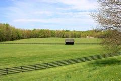 Ackerland Amerikas in der Landschaft Lizenzfreies Stockfoto