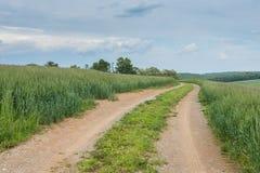 Ackerland, das William Kain Park in York County, Pennsylva umgibt Lizenzfreie Stockbilder