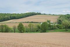 Ackerland, das William Kain Park in York County, Pennsylva umgibt Stockfotos