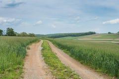 Ackerland, das William Kain Park in York County, Pennsylva umgibt Lizenzfreies Stockfoto