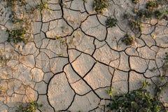 Ackerland der Dürre Lizenzfreies Stockbild