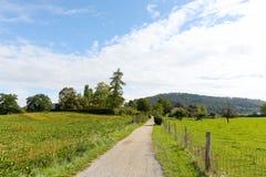 Ackerland in der Schweiz Lizenzfreies Stockfoto